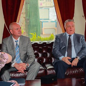 """""""Kültür Diyaloğunda Rusya ve Türkiye"""" başlıklı konferans ve yuvarlak masa toplantısı 7 Mayıs 2018 tarihinde yapıldı."""