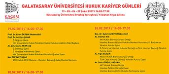 Galatasaray Üniversitesi Hukuk Kariyer Günleri