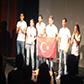 """Galatasaray Üniversitesi Fransızca Tiyatro Topluluğu """"En Mot - De Je"""" isimli oyunu ile  <br/>""""EN İYİ METİN"""" ödülünü kazandı."""