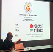 Galatasaray Üniversitesi İletişim Fakültesi, Medyapod ve TGS Akademi iş birliğinde Podcast Atölyesi düzenlendi