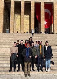 Uluslararası İlişkiler Bölümü Öğretim Üyesi Doç. Dr. Ali Faik DEMİR öğrencileriyle Ankara'da eğitim gezisi gerçekleştirdi.