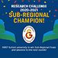 Galatasaray Üniversitesi, CFA Investment Research Challenge'da EMEA bölgesi Alt Bölge Finalini kazanarak sonraki turlara yükselen ilk Türk üniversitesi oldu.