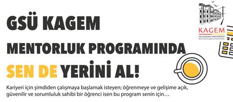 GSÜ KAGEM Mentorluk Programı