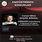 Endüstriden Konuklar - Canan Mine KOÇGİL KÖKSAL - Programme & Digital Transformation Director (AMAZON Luxembourg) - 31 Mayıs 2021 - Pazartesi Saat: 13.30