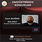 Endüstriden Konuklar - Cem BUĞRA - Kurucu Ortak & CEO (NO-PACT) - 24 Mayıs 2021 - Pazartesi Saat: 12.00